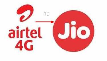 Airtel To JIO MNP