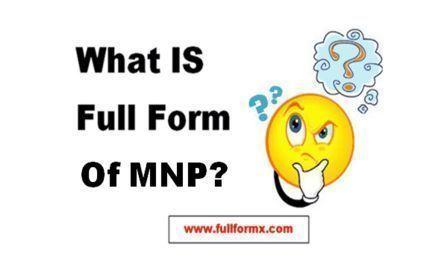 MNP Full Form