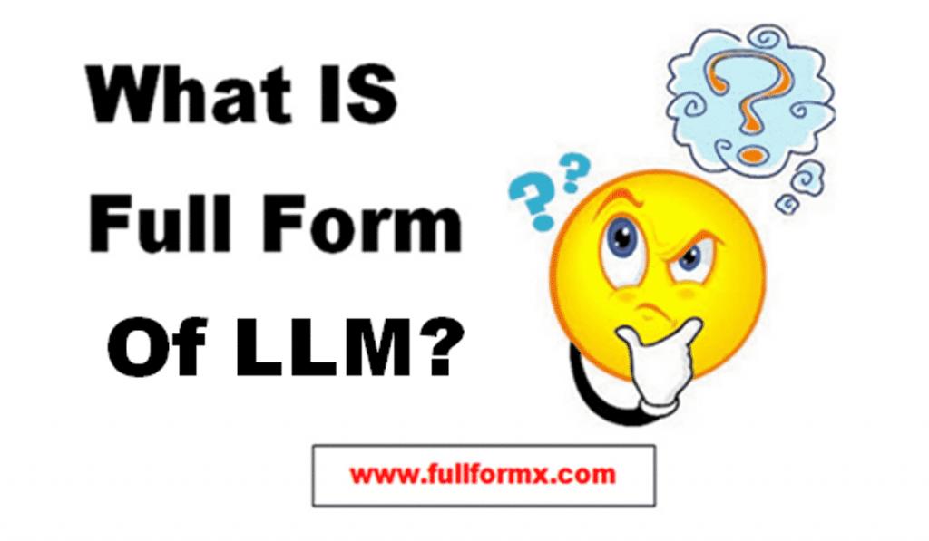 LLM Full Form