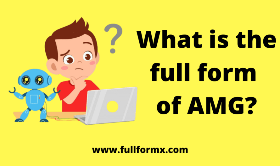 AMG Full Form – What is the AMG Full Form?