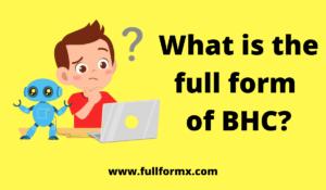 BHC full form