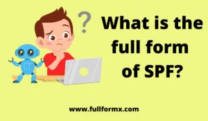 SPF full form