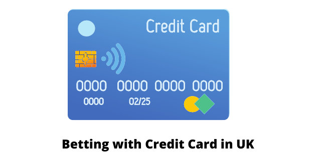 Betting with Credit Card in UK