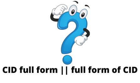 full form CID