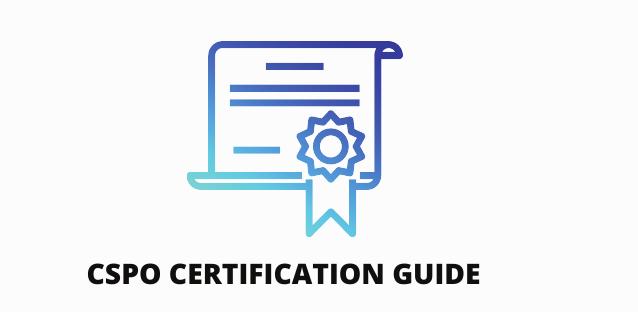 CSPO certification guide