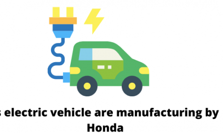 Is electric vehicle are manufacturing by Honda