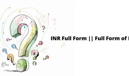 INR Full Form