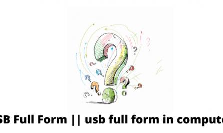 USB Full Form