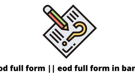 eod full form