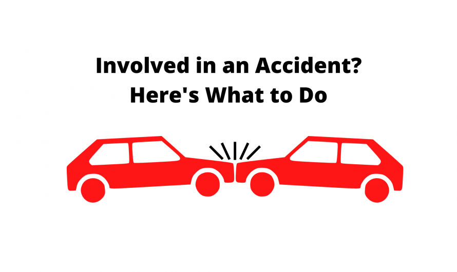 Involved in an Accident? Here's What to Do